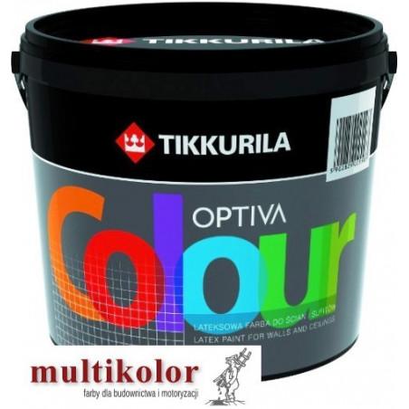 OPTIVA COLOUR kolor NCS 0502-Y farba emulsyjna matowa wewnętrzna kolory z mieszalnika Tikkurila