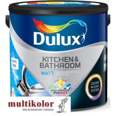 DULUX KITCHEN & BATHROOM farba emulsyjna lateksowa matowa do kuchni i łazienek gotowe kolory