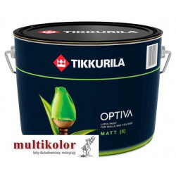 OPTIVA MATT 5 farba emulsyjna akrylowa lateksowa matowa wewnętrzna biała/baza A Tikkurila