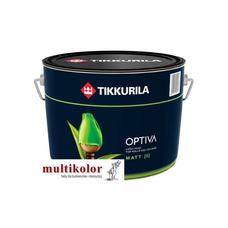 OPTIVA MATT 5 farba emulsyjna akrylowa lateksowa matowa wewnętrzna kolory z mieszalnika Tikkurila