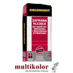 Goldmurit - zaprawa klejąca do siatki i styropianu