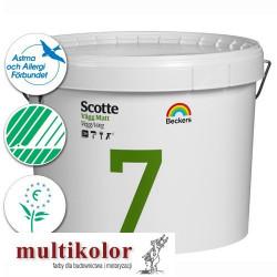 SCOTTE VAGG MATT 7 profi farba emulsyjna półmatowa wewnętrzna biała baza A / vit PROMOCJA